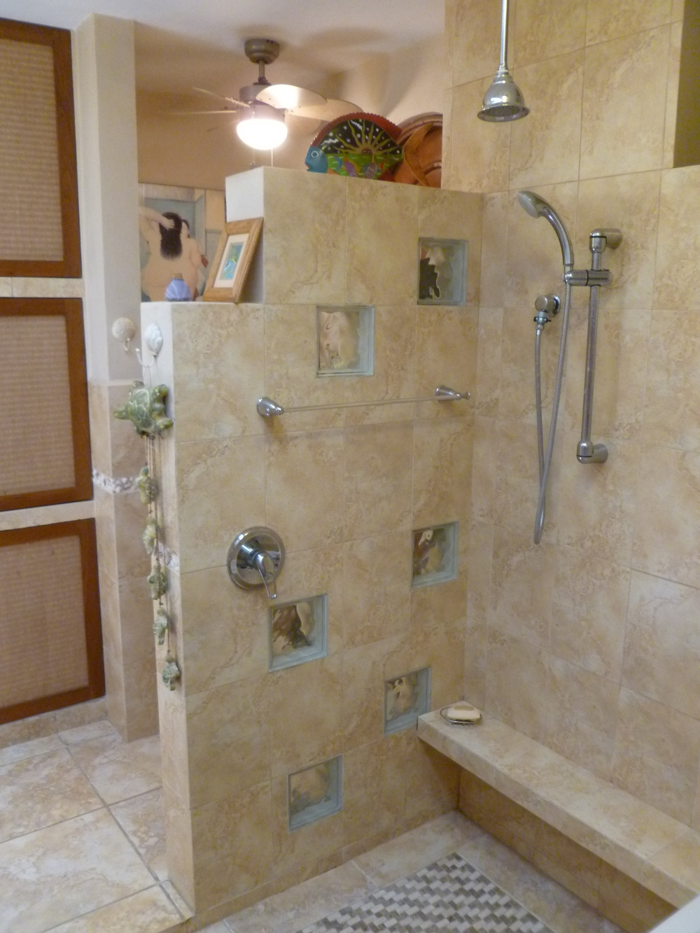 37. master bath shower